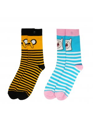 Adventure Time Woman's 2 Pack Socks