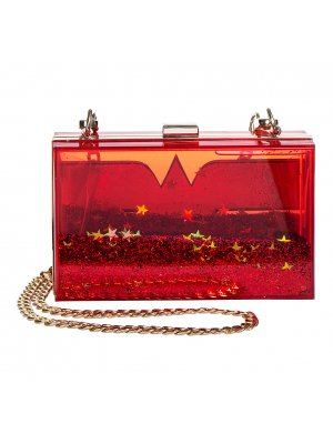 Wonder Woman Box Clutch Bag