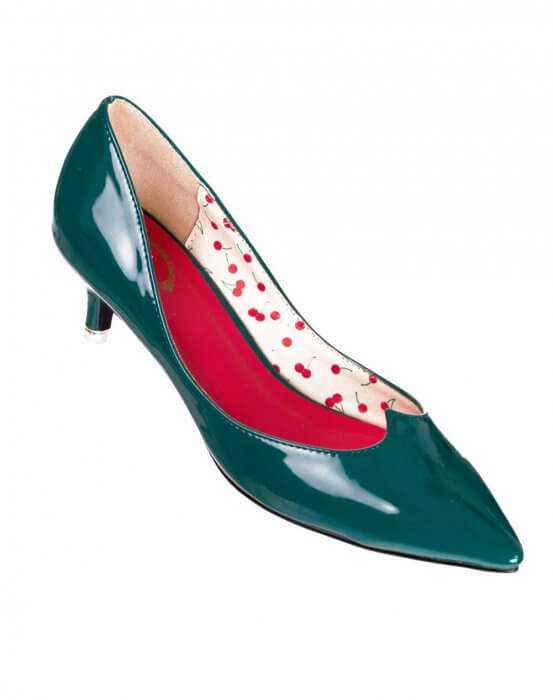 Banned Green Vilma Retro Court Shoes. Skip to the beginning of the images  gallery