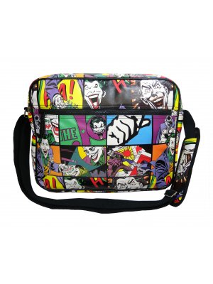 Joker Pop Art Messenger Bag