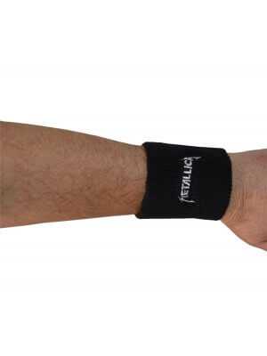Metallica Embroidered Wrist Sweatband