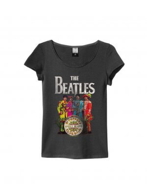 Amplified The Beatles Sgt Pepper's Lonely Hearts Women's T-Shirt