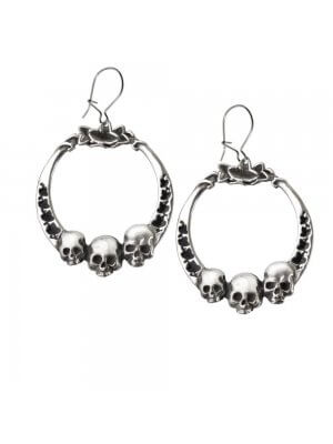 Alchemy Pewter Earrings Ivy League