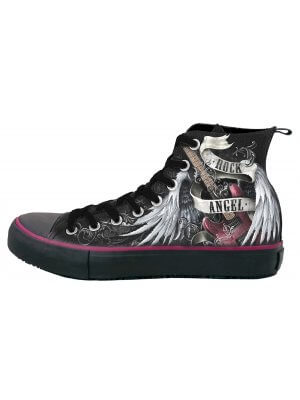 Spiral Souls Women's Rock Angel High Top Sneakers