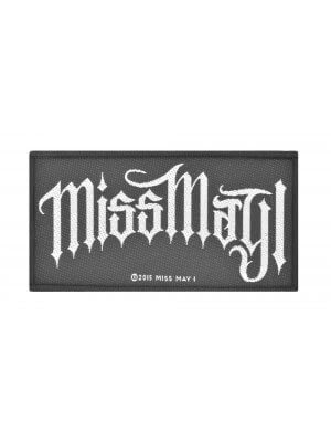 Miss May I Woven Patch