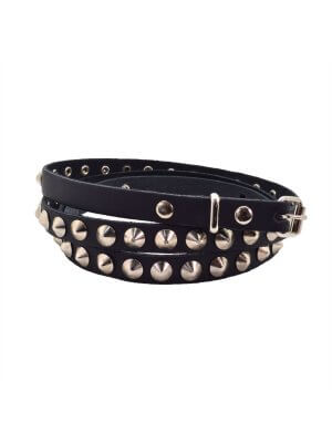 Bullet 69 1 Row Conical Studded Belt (12mm)