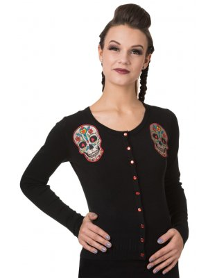 Banned Sugar Skull Cardigan