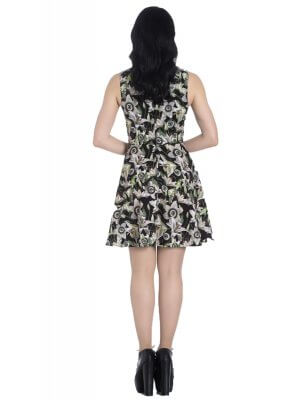 Hell Bunny Peepers Mini Dress