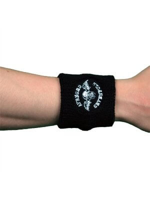 Avenged Sevenfold Death Bat Embroidered Wrist Sweatband