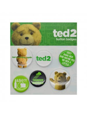 Ted 2 Catchphrase Badge Pack