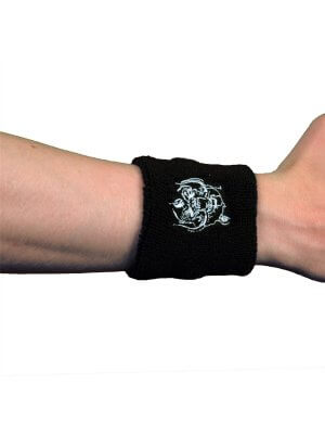 Motorhead War Pig Embroidered Wrist Sweatband