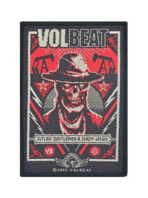 Volbeat Ghoul Frame Woven Patch