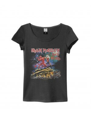 Amplified Iron Maiden Run To The Hills Women's T-Shirt