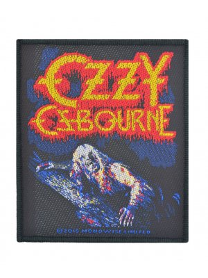 Ozzy Osbourne Bark At The Moon Woven Patch