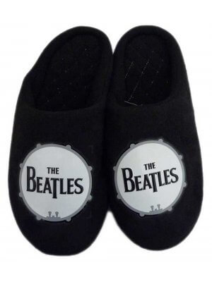 The Beatles Drum Slippers