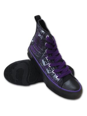 Spiral Waisted Corset Women's High Top Sneakers