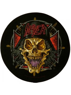Slayer Wehrmacht Circular Back Patch