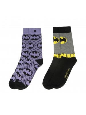 Batman Woman's 2 Pack Socks