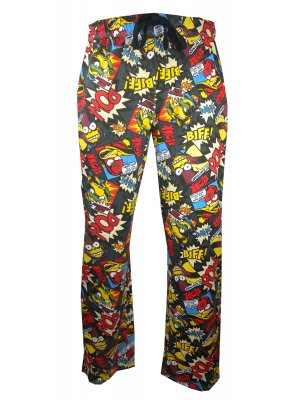 The Simpsons Biff Pow Loungepants